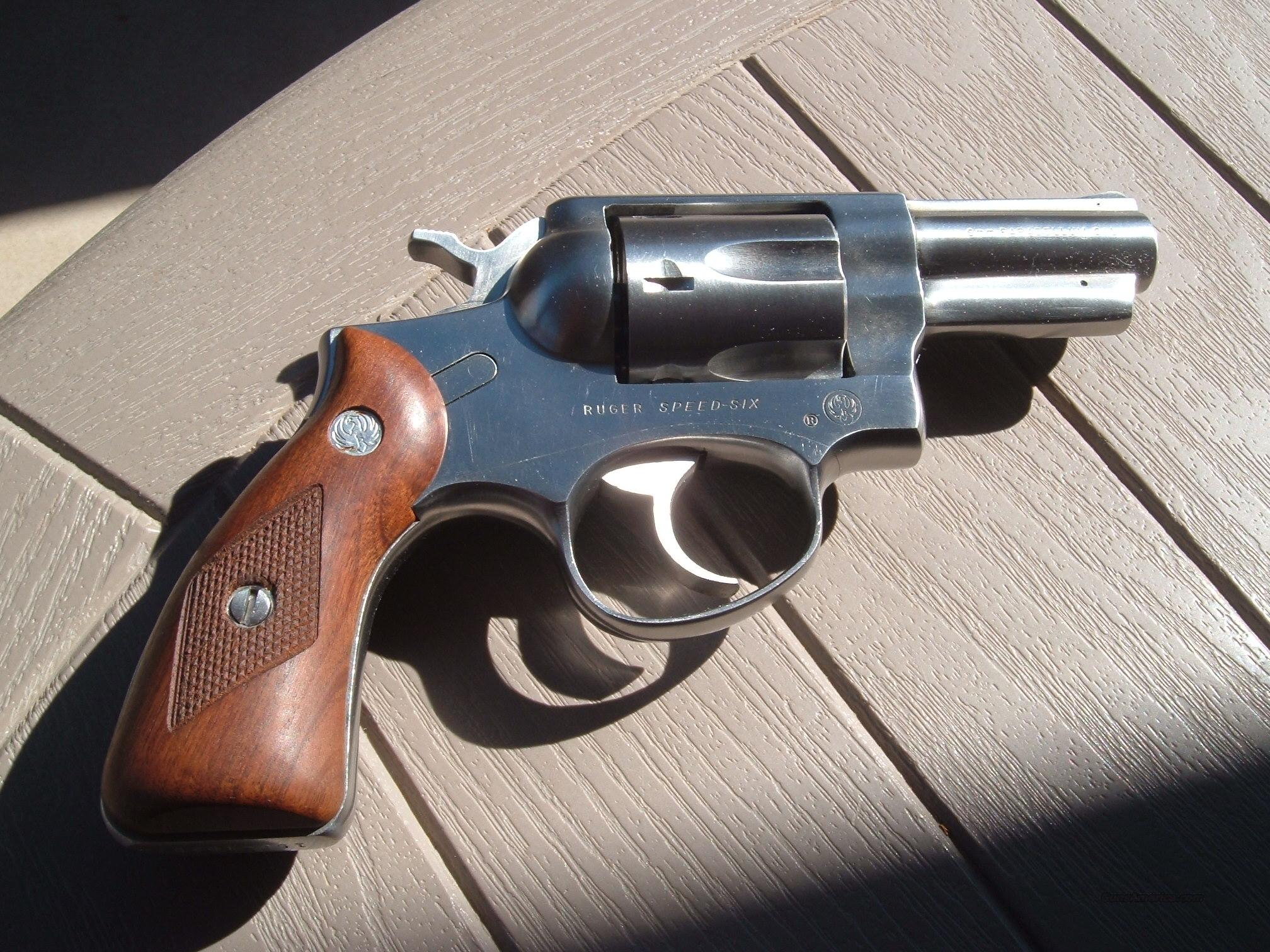 Ruger speed six 9mm  Guns > Pistols > Ruger Double Action Revolver > Security Six Type