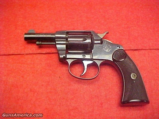 new police  Guns > Pistols > Colt Double Action Revolvers- Pre-1945