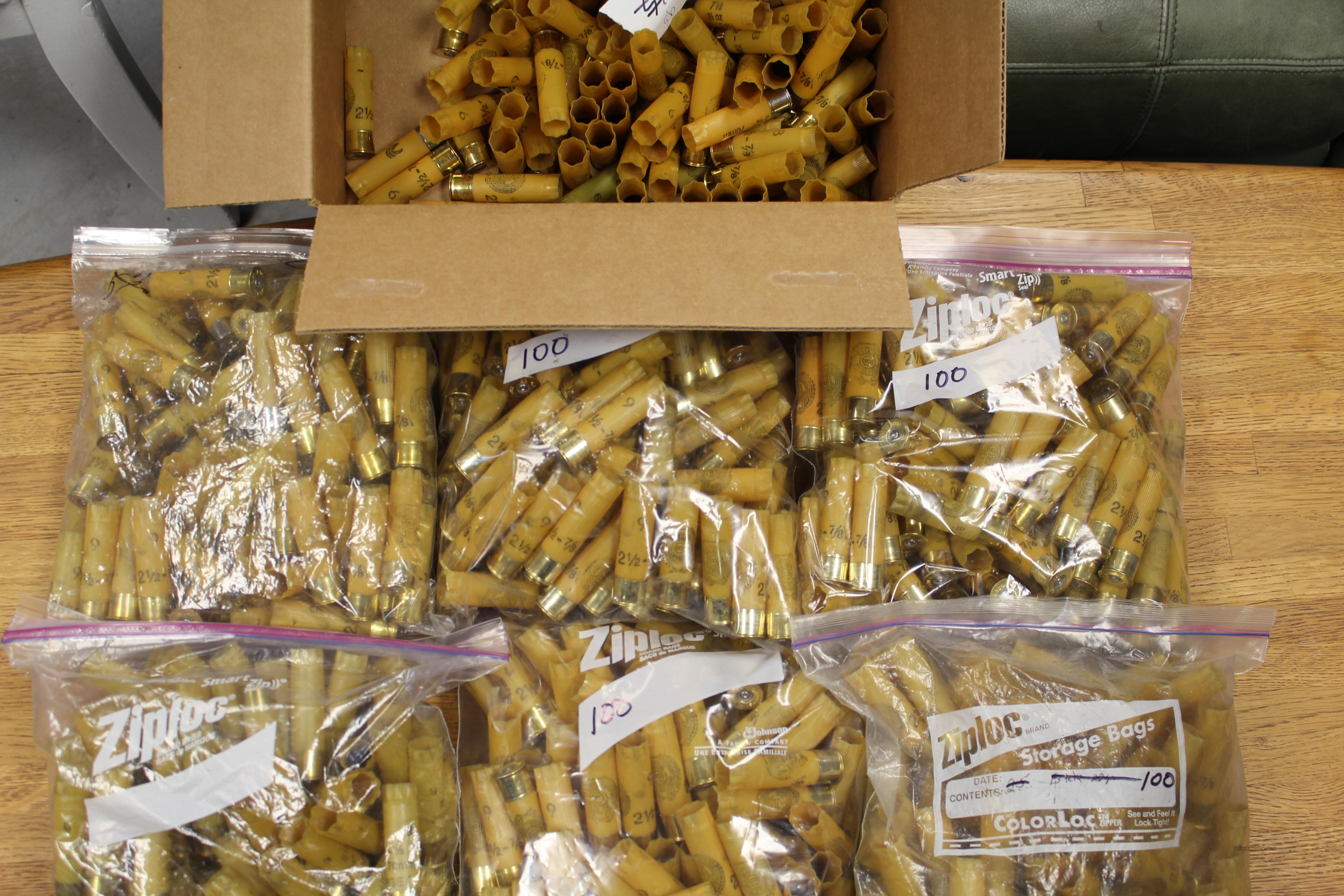 400 Federal/Estate 20ga gage hulls   - not winchester AA or STS Free Shipping  Non-Guns > Reloading > Components