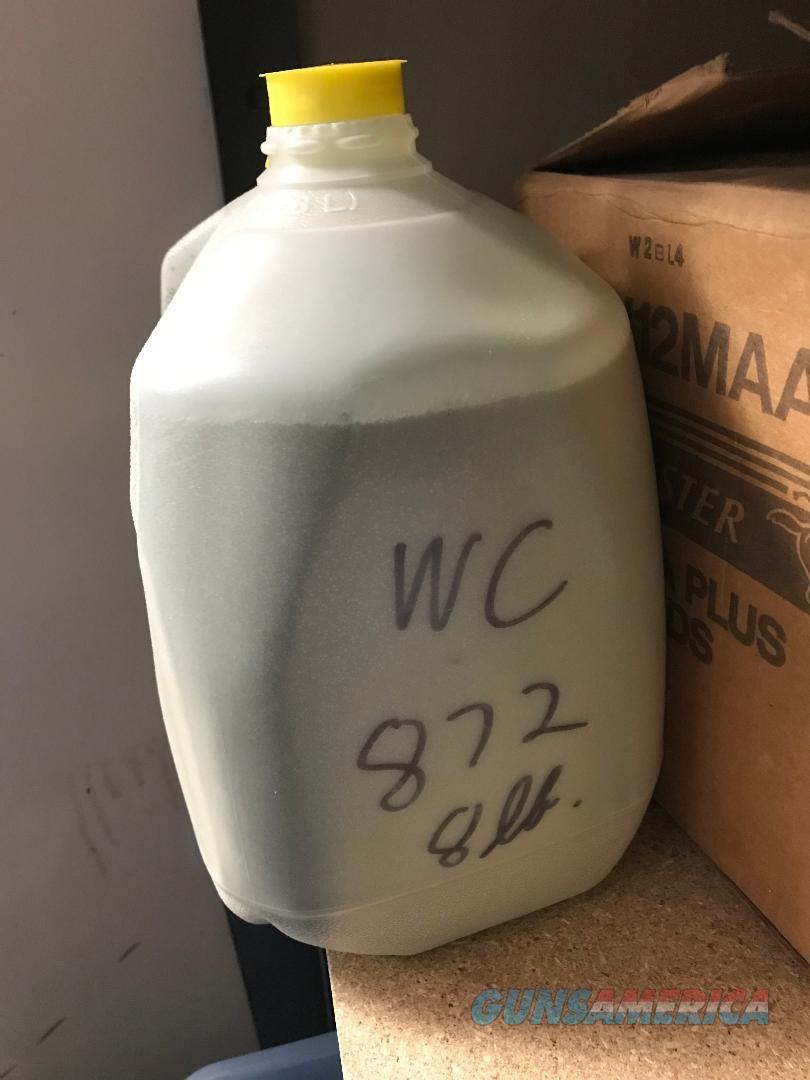 WC 872  Surplus Powder 8# for 50 cal reloading   Non-Guns > Reloading > Components > Other