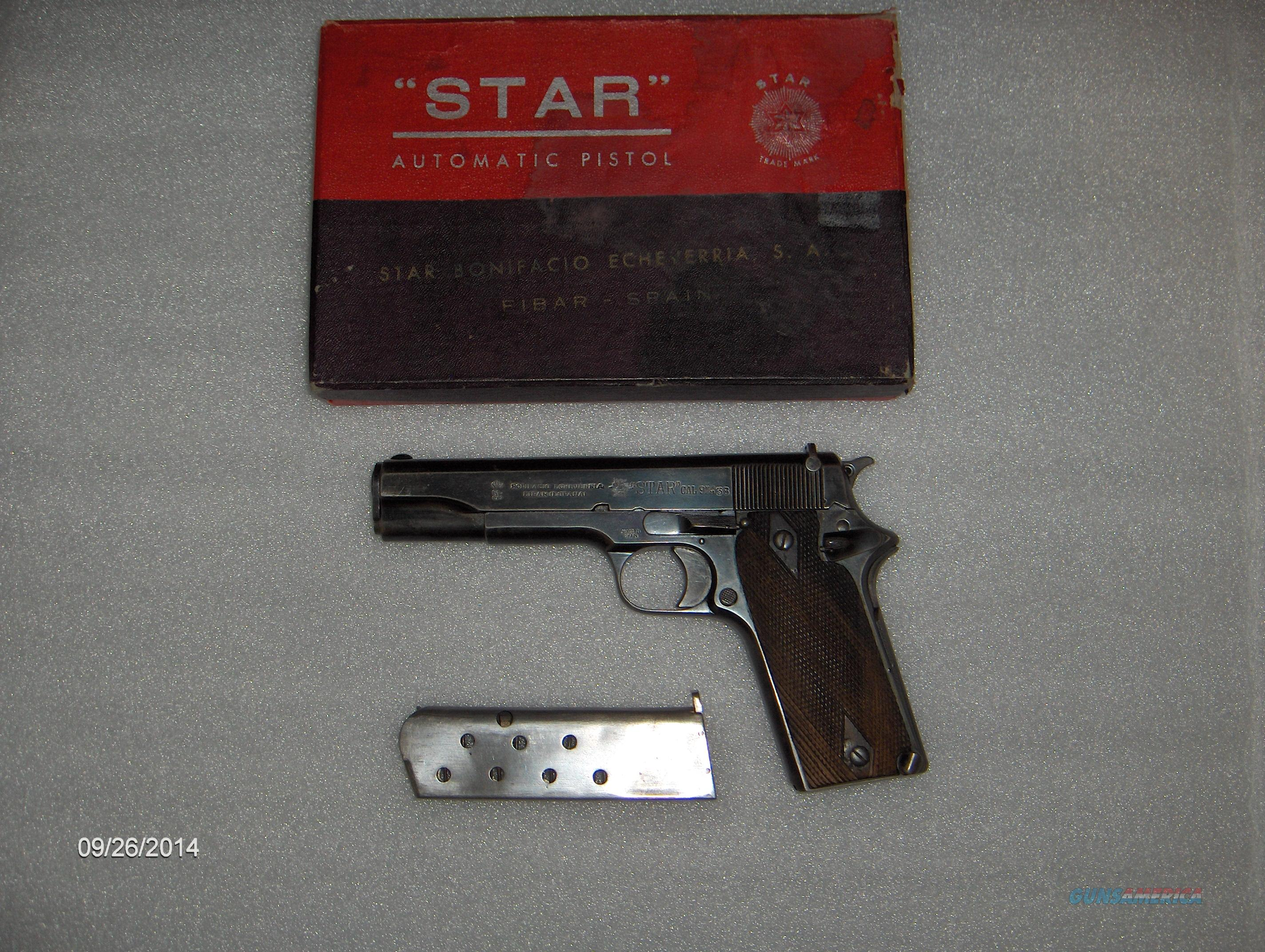 Star Spain 9mm Model 1921 Guardia Civil Pistol   Guns > Pistols > Star Pistols