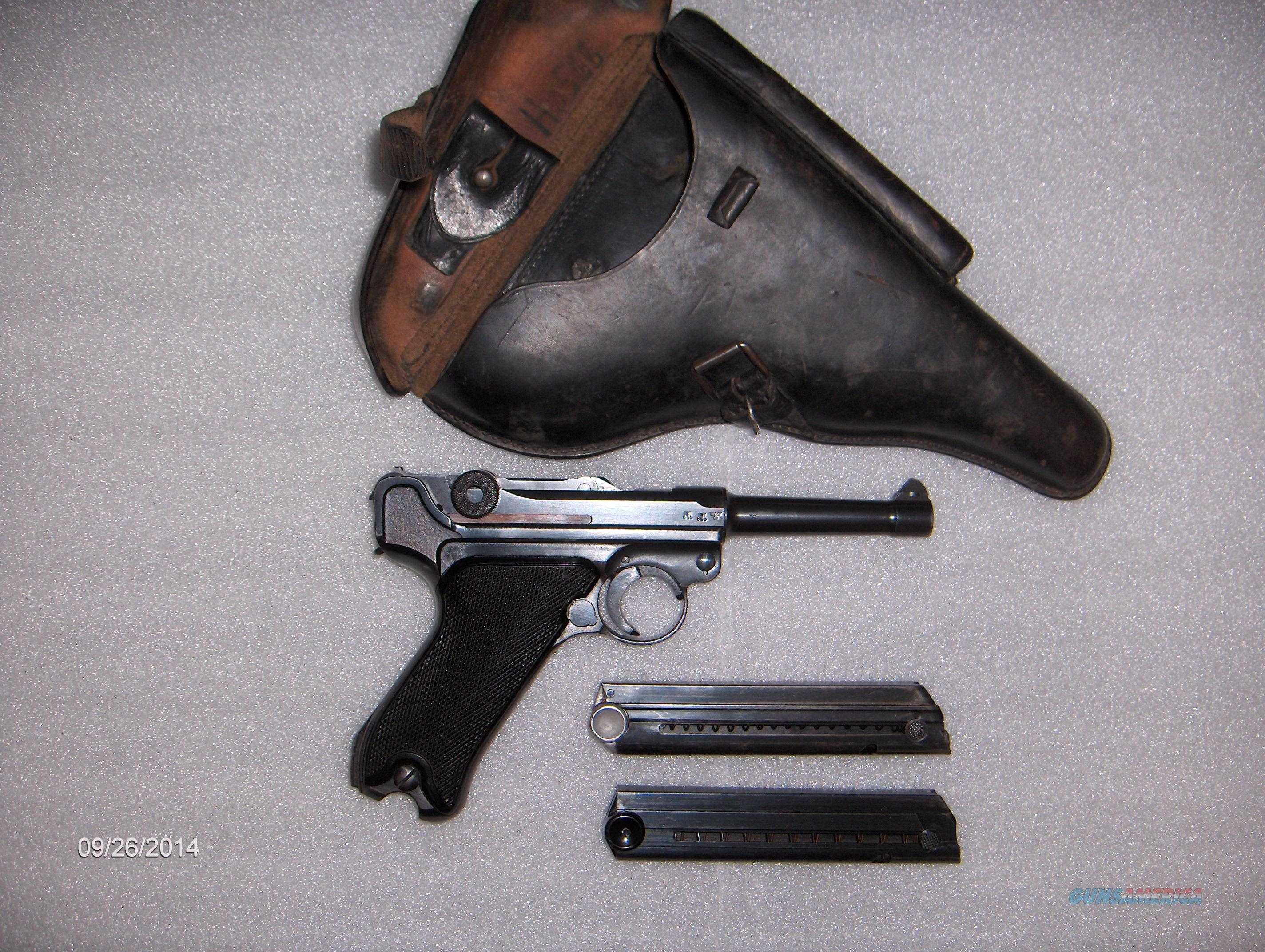 LUGER 41/BYF BLACK WIDOW with Holster  Guns > Pistols > Luger Pistols