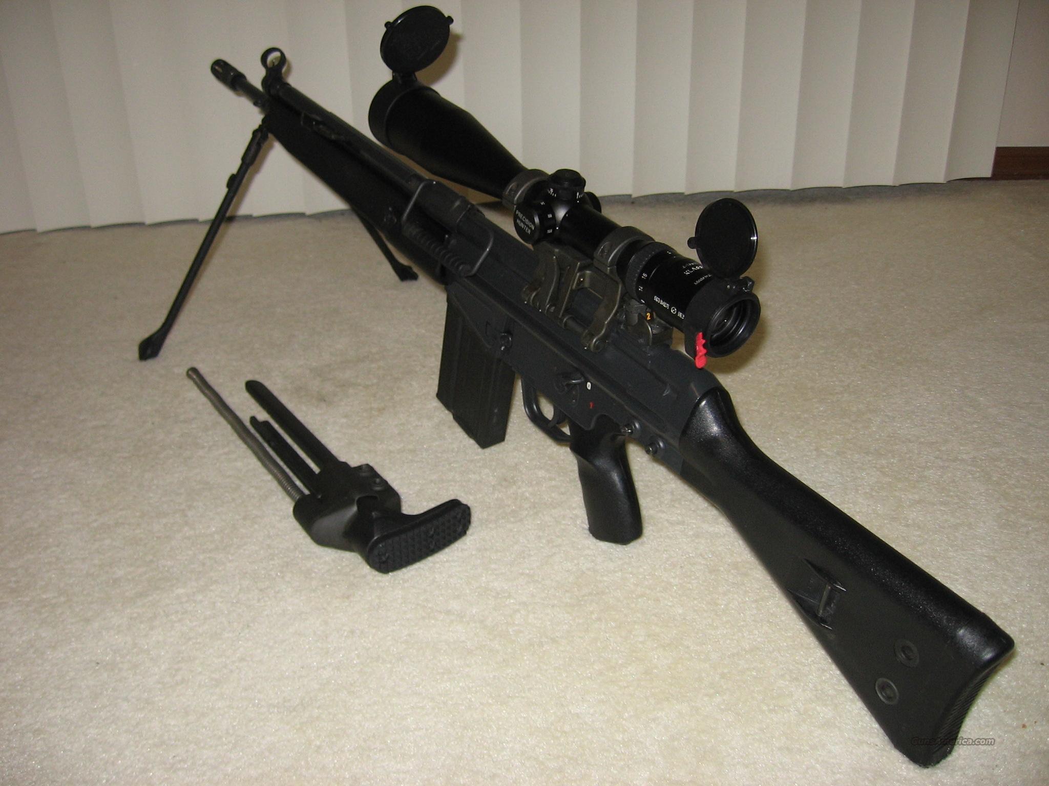 Heckler and Koch 91  Guns > Rifles > Heckler & Koch Rifles > Tactical