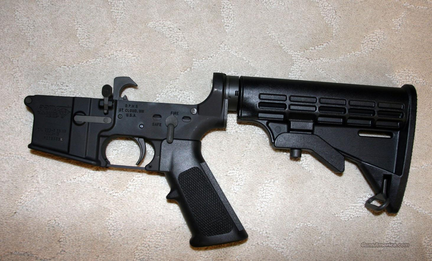 New DPMS complete Lower  Guns > Rifles > DPMS - Panther Arms > Lower Only
